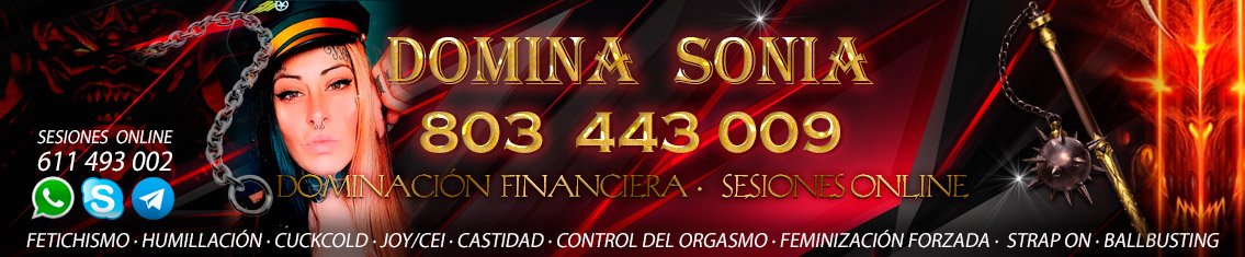domina sonia - findom - dominacion financiera
