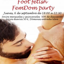 Fiesta FemDom «foot fetish FemDom party»